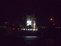 EGE DENIZI - Çanakkale Boğazı'nda gemi kazası