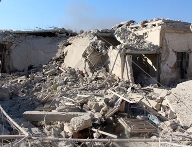 Halep'e ortak saldırı