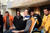 HAMİLE KADIN - Kamyon Otomobillere Çarptı Açıklaması Hamile Kadın Ve Eşi Yaralandı