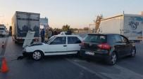 BURAK YILDIRIM - Manavgat'ta Zincirleme Kaza