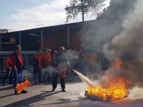 SİVİL SAVUNMA - Muratpaşa'da Yangın Tatbikatı
