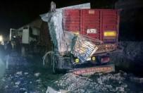 Uşak'ta Trafik Kazası  Açıklaması 1 Ölü, 3 Yaralı