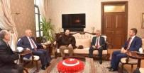 HATAY VALİSİ - Vali Ata, Suudi Prensi Makamında Kabul Etti