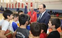 SATRANÇ - Başkan Altay, Spor Okullarında