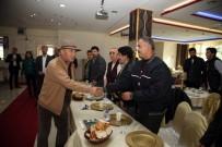 ALTıNOK ÖZ - Başkan Altınok Öz, Apartman Görevlileriyle Bir Araya Geldi