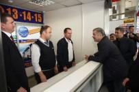 ŞEHİRLERARASI OTOBÜS - Başkan Çelik Terminalleri Ziyaret Etti