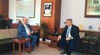 MESUT ÖZAKCAN - Başkan Özakcan'dan Baştuğ'a Hoşgeldin Ziyareti