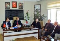 İL BAŞKANLARI - Başkan Soğanda'dan Erciş'e Ziyaret