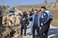 ULUPıNAR - Büyükşehirin Yol Çalışmaları Sürüyor