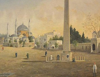 Guillaumet'in 'Sultan Ahmet Meydanı' tablosuna yüksek fiyat