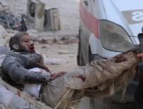 HIZBULLAH - Halep'e hava saldırısı: 30 ölü