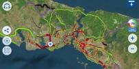 SAĞANAK YAĞIŞ - İstanbul'da Sağanak Yağış Trafiği Durma Noktasına Getirdi