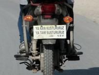 ELEKTRİKLİ BİSİKLET - Kadın sürücüden plaka yerine 'ağır abi' sözü