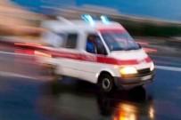 İŞÇİ SERVİSİ - Yoldan çıkan işçi servisi şarampole yuvarlandı! Yaralılar var