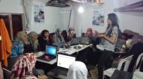 GÜVENLİ İNTERNET - Köylü Kadınlara Bilgisayar Öğreniyor