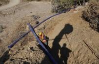 ŞEBEKE HATTI - MESKİ Anamur'da İçme Suyu Çalışmalarını Sürdürüyor