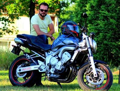 Motosiklet tutkunu genç kendi ölümünü kaydetti