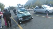 DALYAN - Ortaca'da Otomobille Motosiklet Çarpıştı; 2 Ağır Yaralı