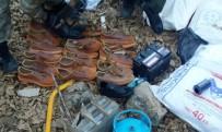 BENZIN - Teröristlere Ait Çok Sayıda Malzeme Ele Geçirildi