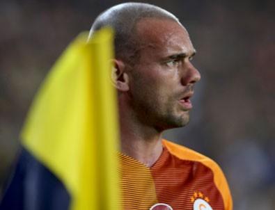 Wesley Sneijder'i coşturan mesaj