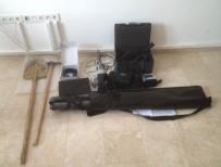 KAÇAK KAZI - Alanya'da Kaçak Kazı Operasyonu