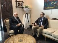 KÜBA - Başkan Ataç'tan Küba Büyükelçiliğe Taziye Ziyareti