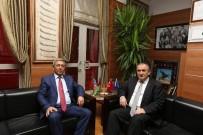 EMNIYET MÜDÜRLERI KARARNAMESI - Bolu Emniyet Müdürü Özel'den Başkan Yılmaz'a Ziyaret