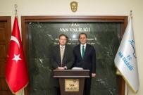 AKDAMAR ADASı - Büyükelçi Olling'den Vali Taşyapan'a Ziyaret