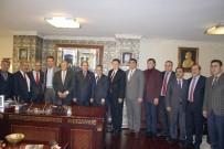 ESNAF VE SANATKARLAR ODALARı BIRLIĞI - CHP Heyetinden, SESOB Başkanı Köksal'a Ziyaret