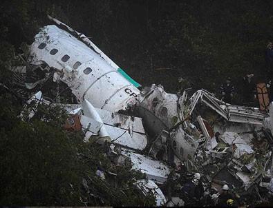 Düşen uçaktan en net görüntüler