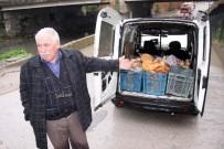 İTFAİYE ARACI - Ekmek Teknesi Suya Gömüldü, Gözyaşları İçinde İzledi