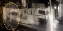TEMİZLİK GÖREVLİSİ - İstanbul'daki Ölümlü Kaza Kamerada