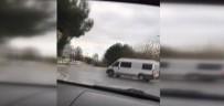 CEP TELEFONU - İstanbul trafiğinde tehlikeli şov
