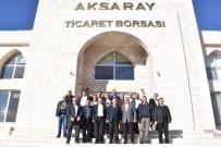 CENGIZ AYDOĞDU - Milletvekili Aydoğdu, Borsadan Brifing Aldı