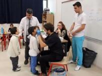 DIŞ HEKIMI - Minik Öğrenciler Diş Taramasından Geçti