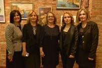 RESIM SERGISI - Renklerin Neşesi Sergisi Açıldı
