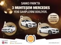 ÇEKİLİŞ - Sanko Park'tan 3 Ziyaretçisine Lüks Otomobil