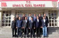 SARıLAR - Sivasspor Yönetiminden, İl Özel İdaresi Genel Sekreteri Kaya'ya Ziyaret