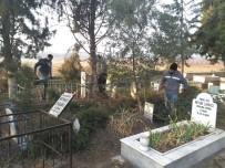 URGANLı - Urganlı Mezarlığı Temizleniyor