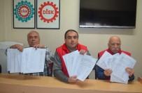 METAL İŞ - Vergi Adaleti İstiyoruz Kampanyasına 2 Bin 500 İmza