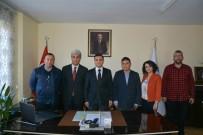 AHMET CAN PINAR - Yıldızeli Meslek Yüksekokulu Müdürü Yıldız'dan, Kaymakam Pınar'a Ziyaret