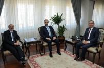 YÜKSEKÖĞRETIM KURULU - YÖK Heyeti Vali Tapsız'ı Ziyaret Etti