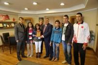 ABDULLAH ÖZER - Ereğli Belediye Başkanı'na Teşekkür Ziyareti