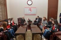 MUSTAFA BAŞ - Gagavuzya'dan Gelen Öğrenciler, Vali Çelik'i Ziyaret Etti