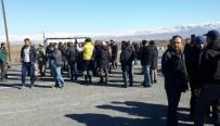 NAHÇıVAN - Mayın Tespiti Yapanlardan 'Maaş' Protestosu
