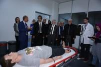 TIP EĞİTİMİ - Rektör Özer, İyi Hekimlik Uygulamaları Ve Simülasyon Merkezini Gezdi