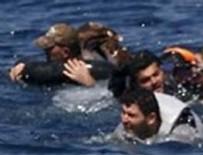 LIBYA - Sığınmacı gemisi battı
