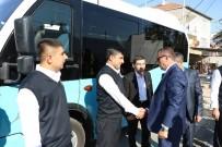Soma'ya 8 Adet Toplu Taşıma Aracı