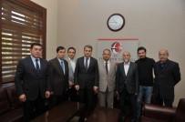 HıZLı TREN - TURSAB Temsilcileri Vali Çelik'i Ziyaret Etti