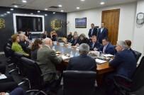 BÜTÇE KOMİSYONU - Vali Kamçı Avrupa Parlamentosu Bütçe Denetim Komisyonu Üyelerini Kabul Etti